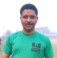 Hement Raj Kaphale Nepal Volunteer 8 Billion Trees Team